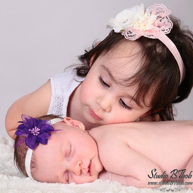 Photos bébé soeur