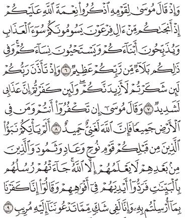 Tafsir Surat Ibrahim Ayat 6, 7, 8, 9, 10