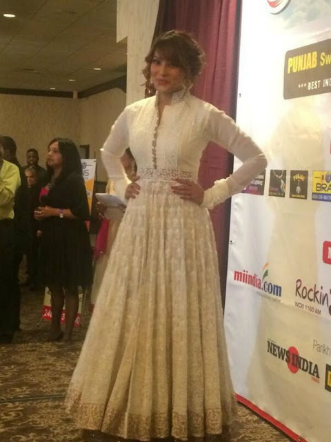 Bipasha Basu In Designer Floor Length Anarkali Suit
