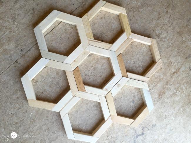 Playing around with hexagons