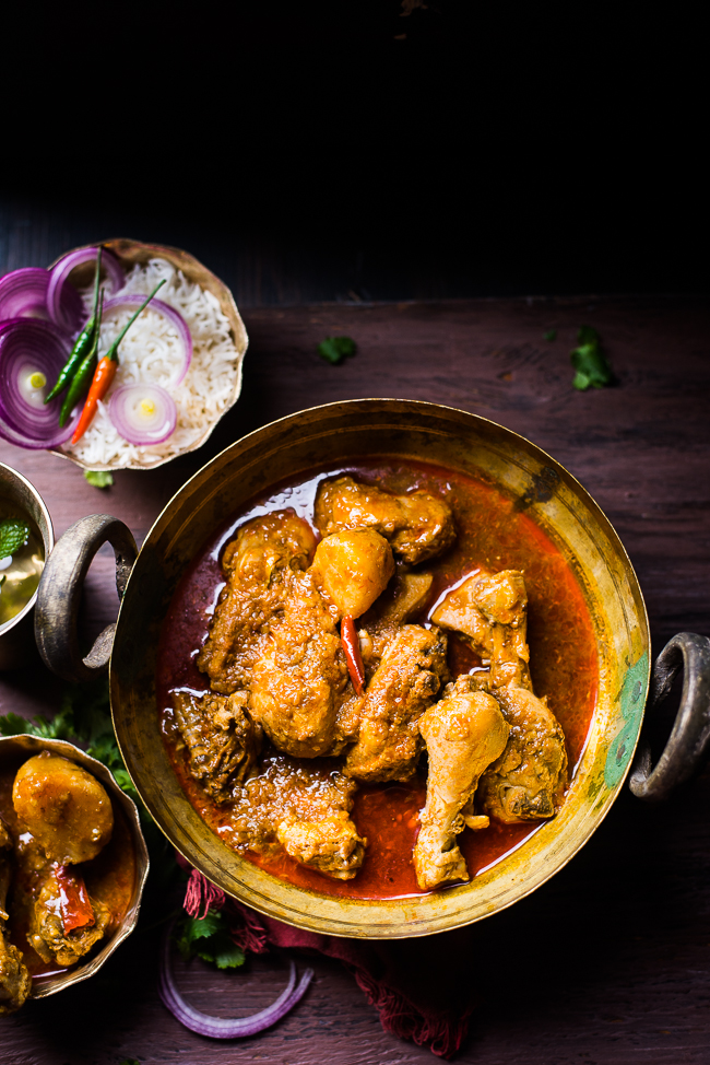 Mix And Stir Sunday Special Bengali Chicken Curry Murgir Jhol