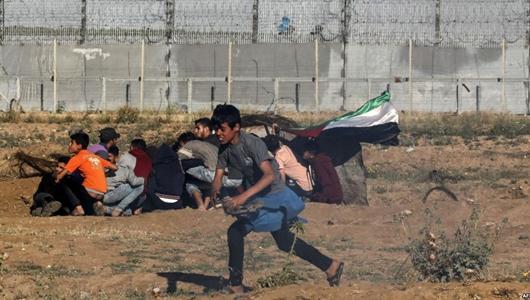 Pasukan Israel Tembak Demonstran di Gaza, 1 Orang Tewas