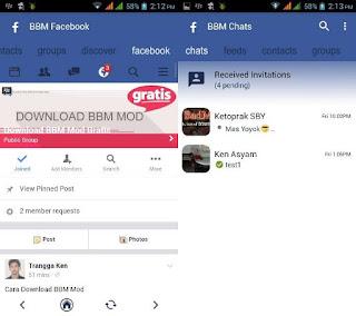 BBM Mod Tema Facebook Apk 3.0.1.25 (FBUI)