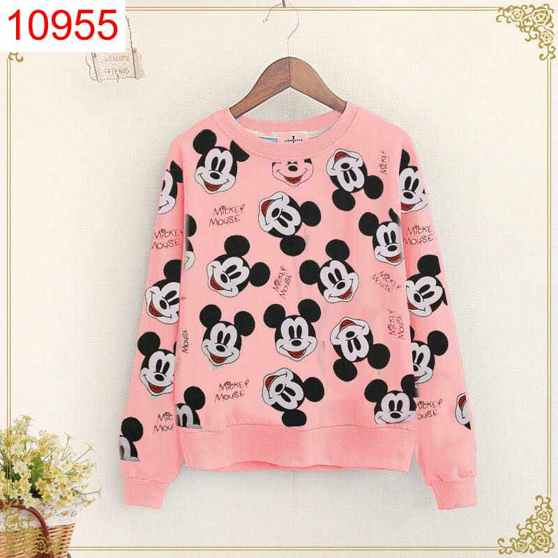 SWT FULL MICKEY PINK - 10955