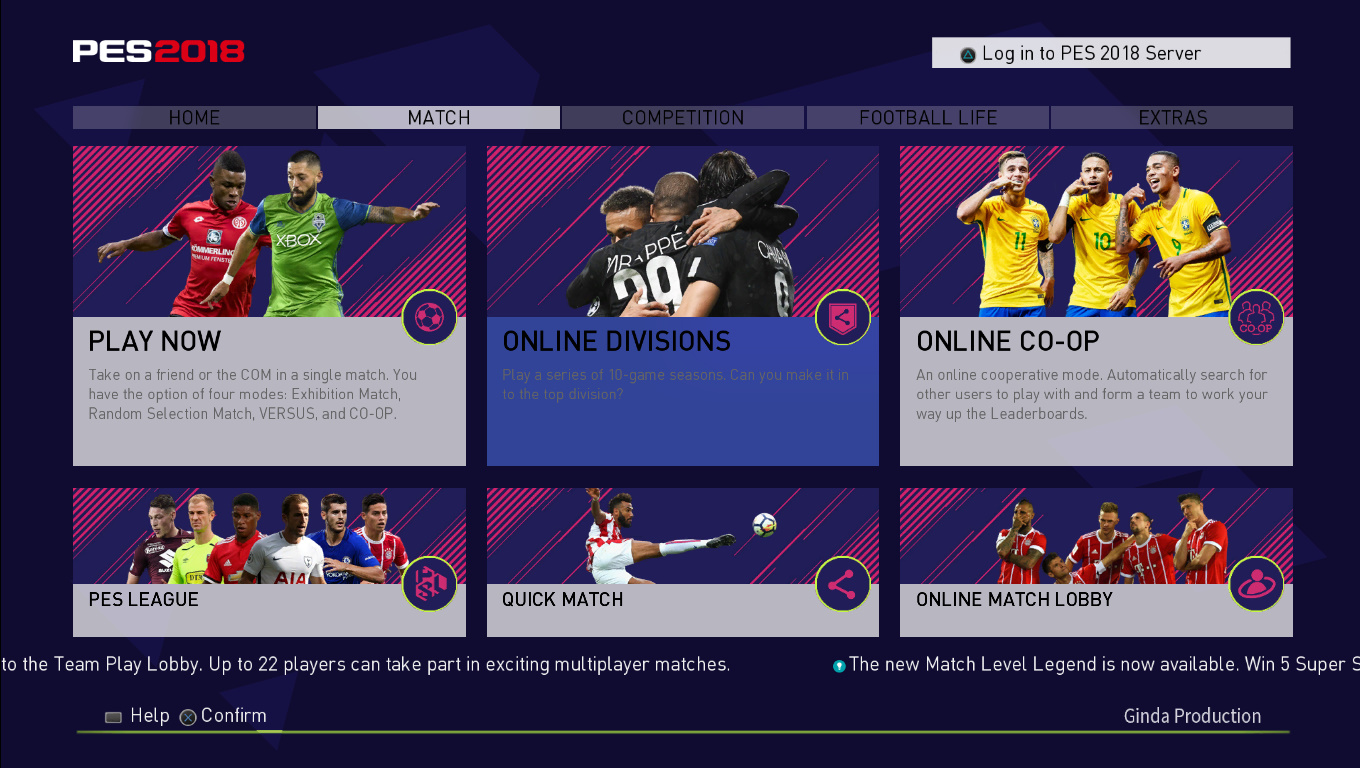 how to play pes 2018 online pc