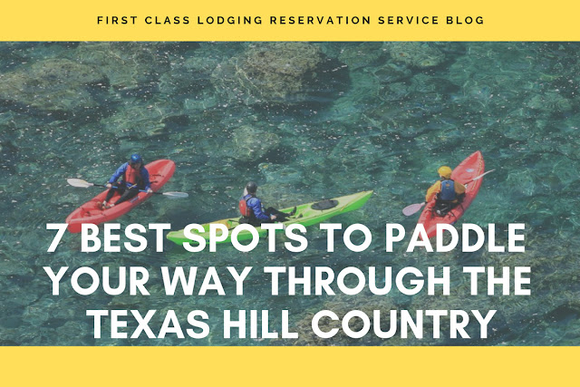 7 best spots to paddle in Texas Hill Country blog cover image