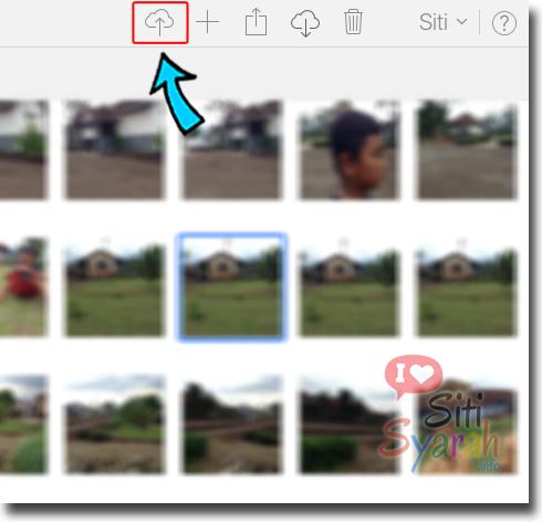 cara memasukan foto ke iphone lewat iCloud