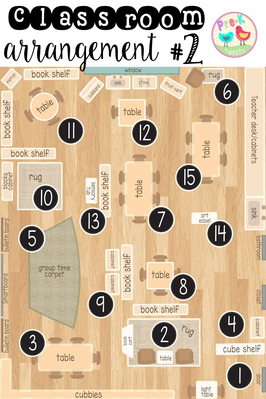 where should you put your book shelves your group time carpet your storage  [ 1066 x 1600 Pixel ]