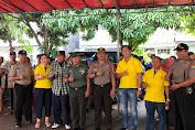 Danramil 02 dan Kapolsek Hadiri Bakti Sosial Bersama Bank Jasa Jakarta