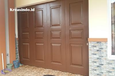 Jasa Pembuatan Pintu Garasi Besi atau Pintu Handerson di Sentul City
