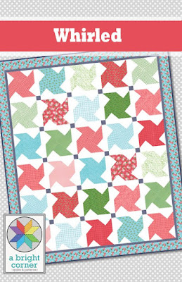 Whirled Quilt pattern by A Bright Corner