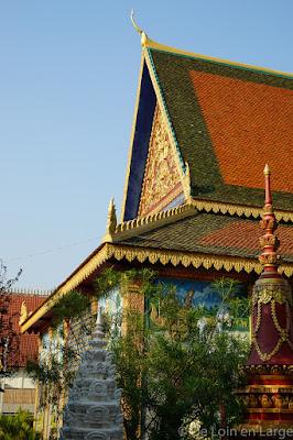 Wat Po Banteaychey - Siem Reap - Cambodge