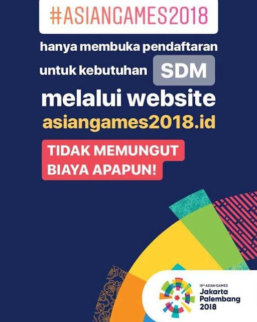 Lowongan%2BKerja%2BVolunteer%2BAsian%2BGames%2B2018 - Asian Games Lowongan