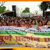 मधेपुरा नगर परिषद् में भ्रष्टाचार के खिलाफ नगर परिषद कार्यालय का घेराव तथा उग्र प्रदर्शन