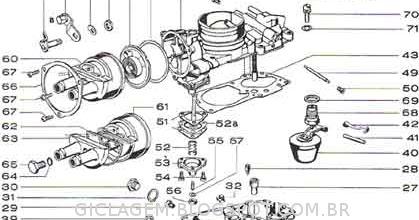 Carburador H 35 Pdsit Brosol Solex
