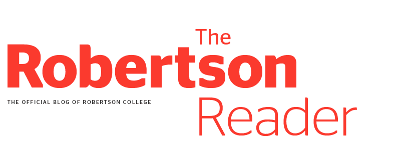 Robertson Reader | The Official Blog for Robertson College