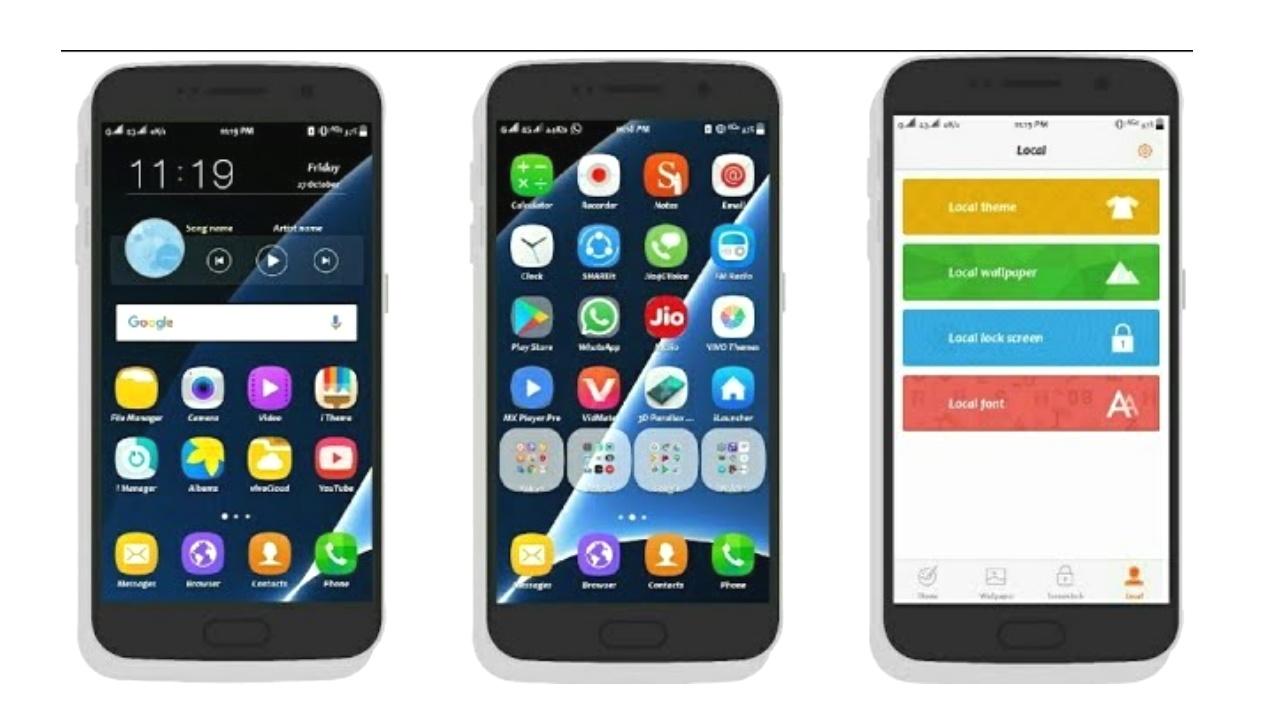 VIVO Phone (FuntouchOS) Themes : Samsung S7 Theme