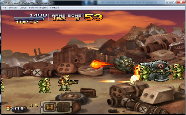 Metal Slug (Europe) ISO Download - PPSSPP