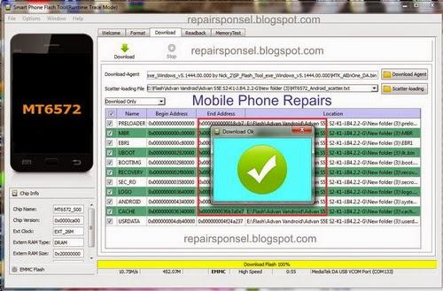 tutorial lengkap disertai gambar untuk flash advan S5E kangsigit.com