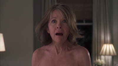 movie Something's Gotta Give - Harry (Jack Nicholson) accidentally sees Erica Barry (Diane Keaton) naked
