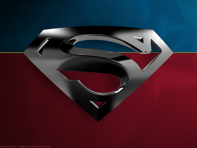 superman logo wallpaper normal