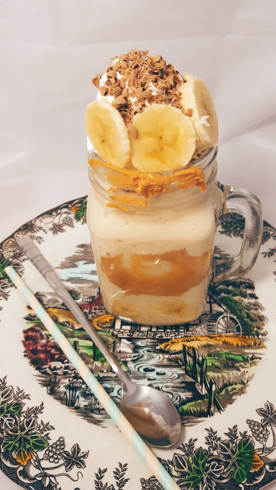 Healthier Banana And Peanut Butter Freak Shake