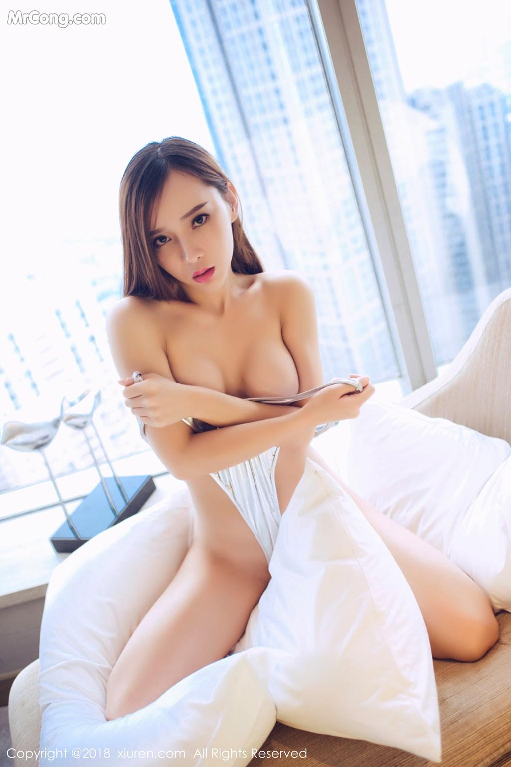 Image XIUREN-No.946-Ai-Xiao-Qing-MrCong.com-034 in post XIUREN No.946: Người mẫu Ai Xiao Qing (艾小青) (46 ảnh)
