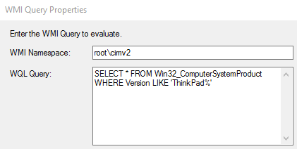 Upgrading TPM Spec 1 2 to 2 0 on ThinkPad using ConfigMgr Current