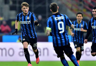 Inter Milan Libas Palermo 3-1
