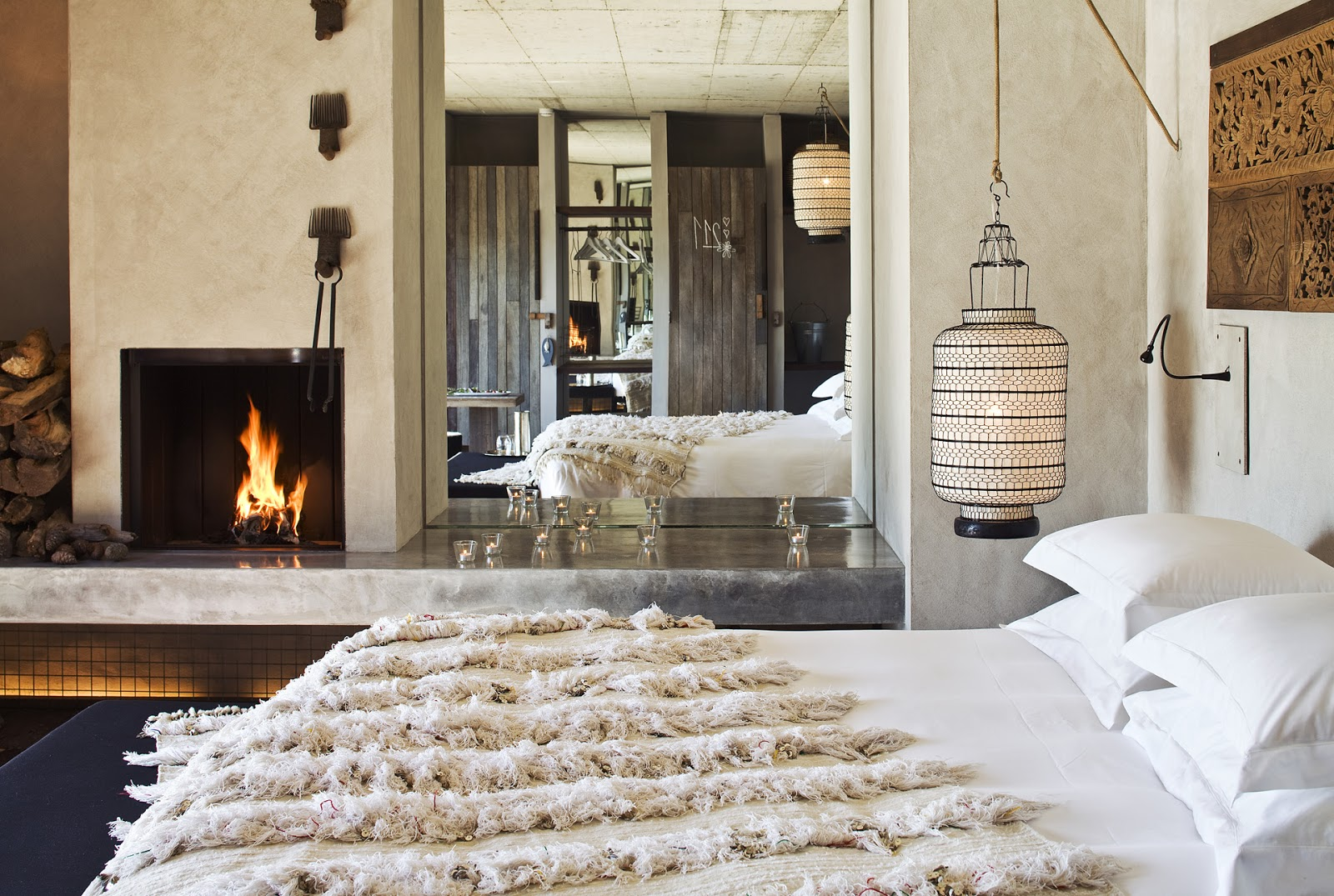 eco+style+holiday+luxury+areiasdoseixo+openspace+room+handira+candles+ethnicchic+cocomorocco