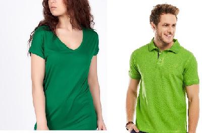 yeşil renk tişört altına ne giyilir kombin