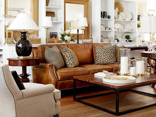 I Love This Sofa And How The Owner Mixed In Tradition And Contemporary. It  Looks So Fresh And On Trend.