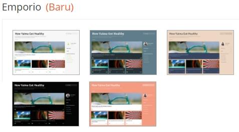 Tema Blog Emporio