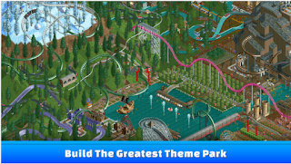 Download RollerCoaster Tycoon Classic MOD Apk + DATA Terbaru