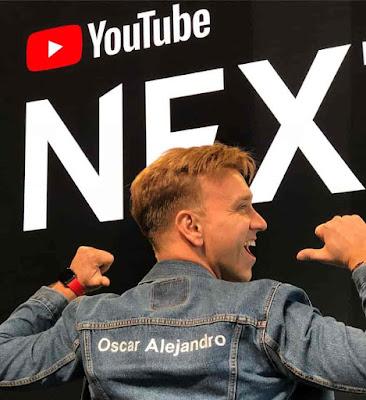 Oscar Alejandro en el NextUp 2018
