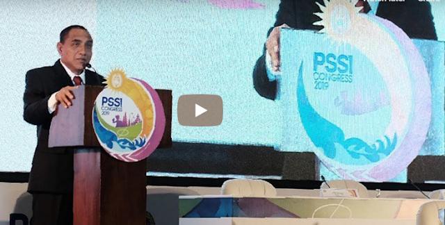 Edy Rahmayadi mengundurkan diri dari jabatan ketua umum PSSI