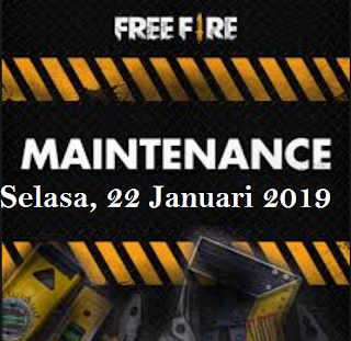 Informasi Maintenance FF, Sampai kapan free fire maintenance Selesai?