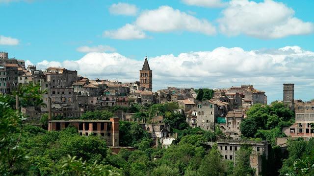 Vista da cidade de Tivoli