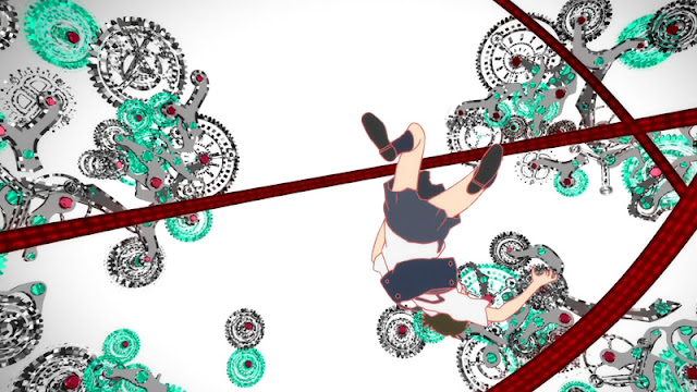 The Girl Who Leapt Through Time Falling Through Time