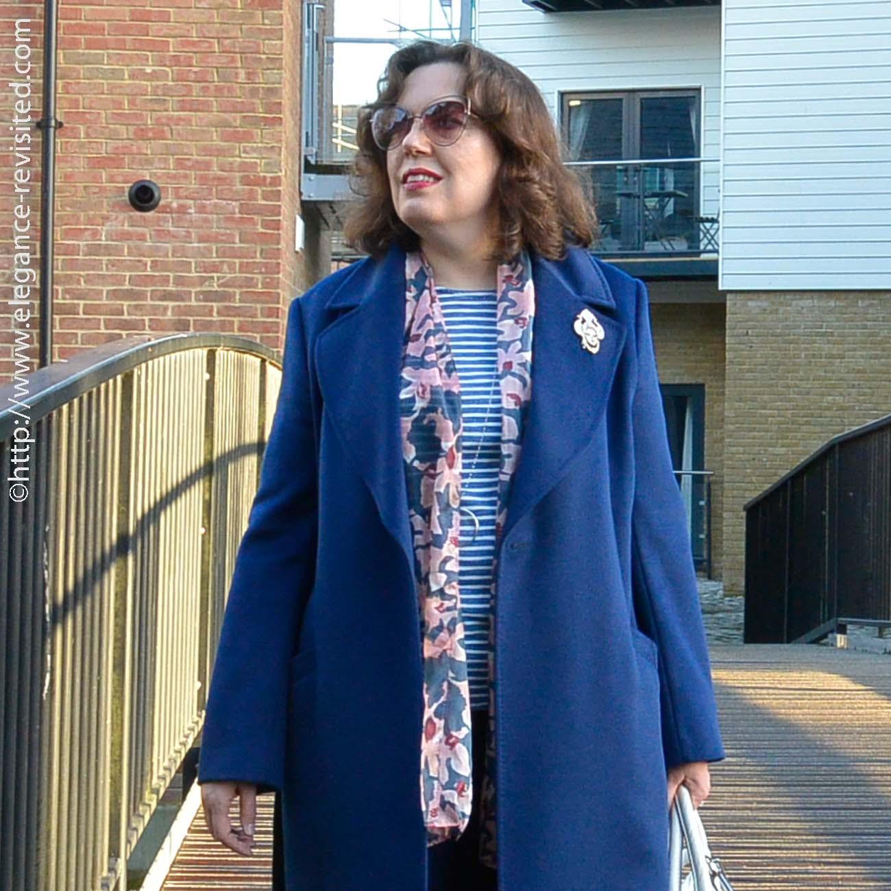 wraparound coat
