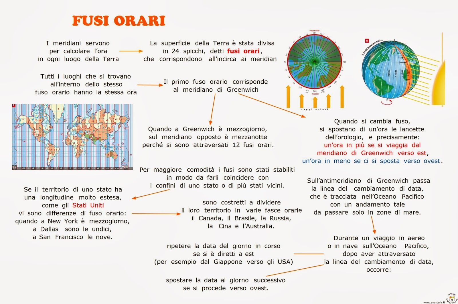 Cartina Fusi Orari Nel Mondo.Paradiso Delle Mappe Fusi Orari