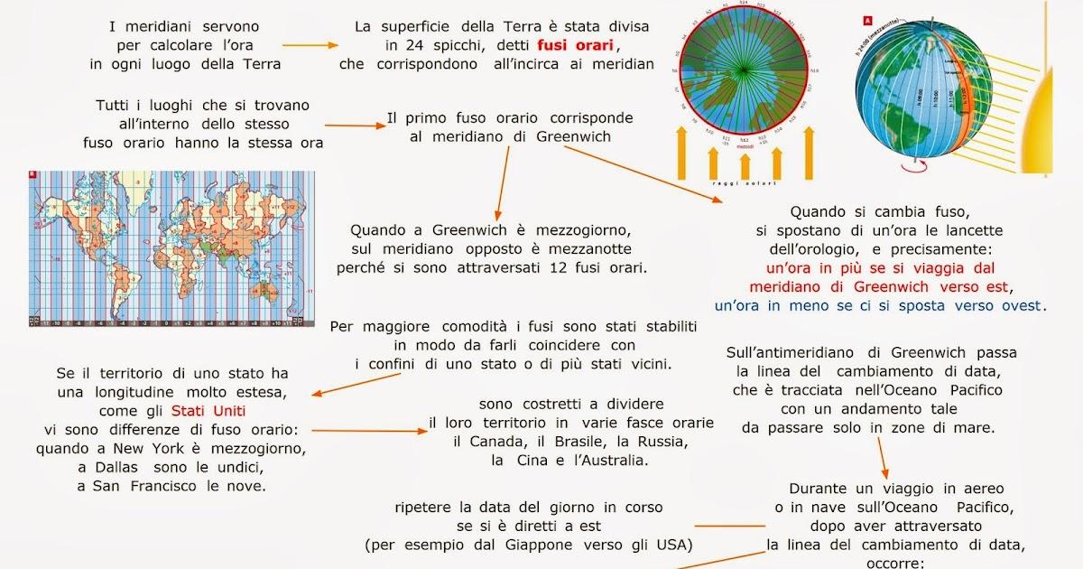 Cartina Fusi Orari Mondo.Paradiso Delle Mappe Fusi Orari