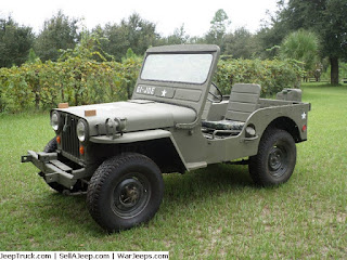 Army Jeep Photo Briefing