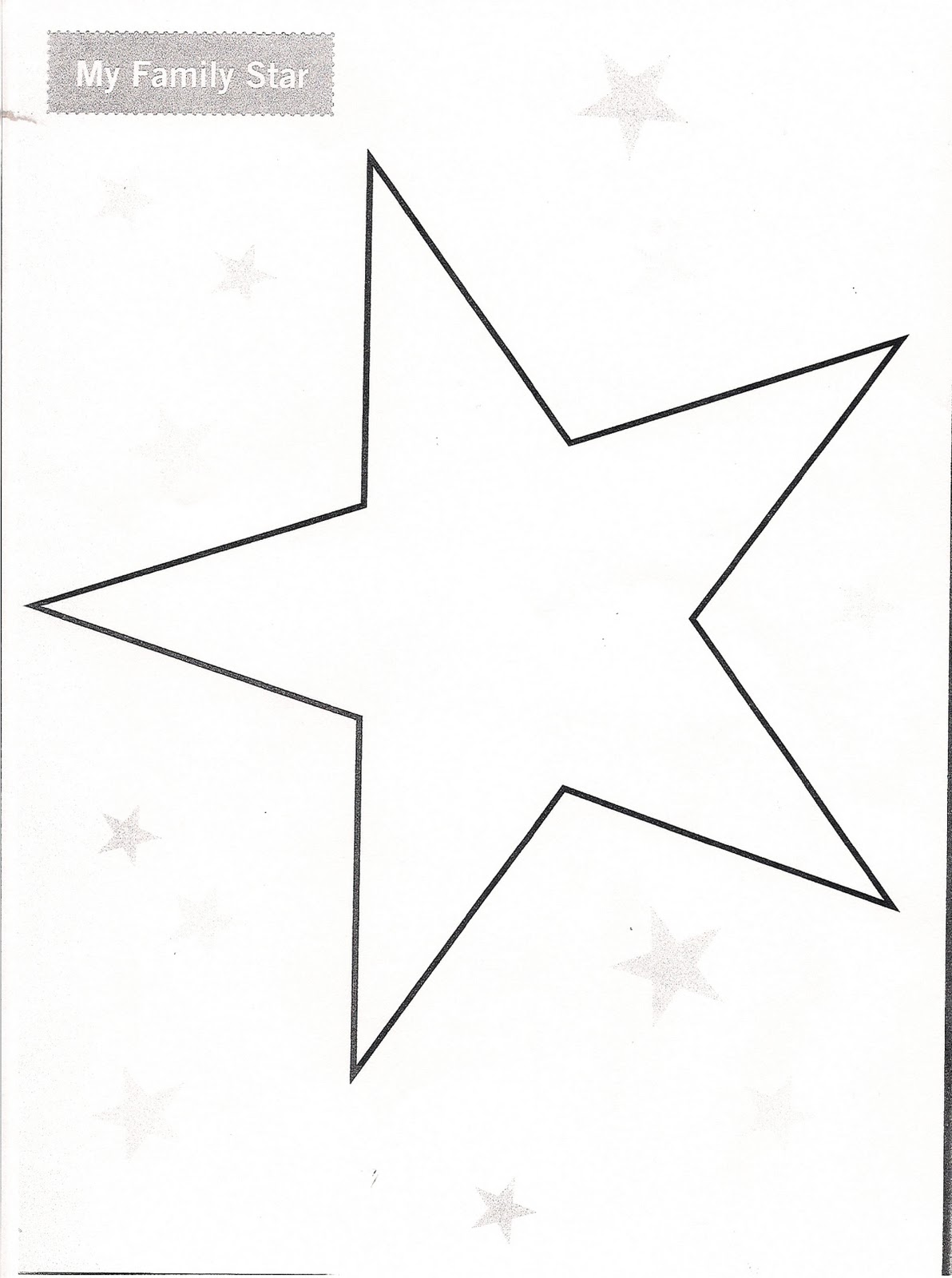 Troop Family Star