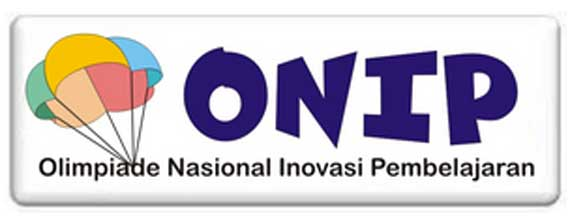 logo resmi ONIP pada tahapan kegiatan ONIP (Olimpiade Nasional Inovasi Pembelajaran) Matematika tahun 2016