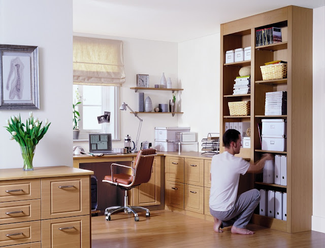 modern wood home office furniture sets design ideas pictures