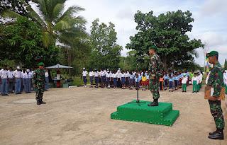 Sumpah Pemuda Bergema di Tapal Batas Republik Indonesia - papua new guineai - Commando