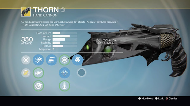 How to Get the Year 3 Thorn in Destiny: Rise of Iron