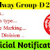 Railway Group-D 2019 Syllabus pdf download, Number Division, Negetive Marking