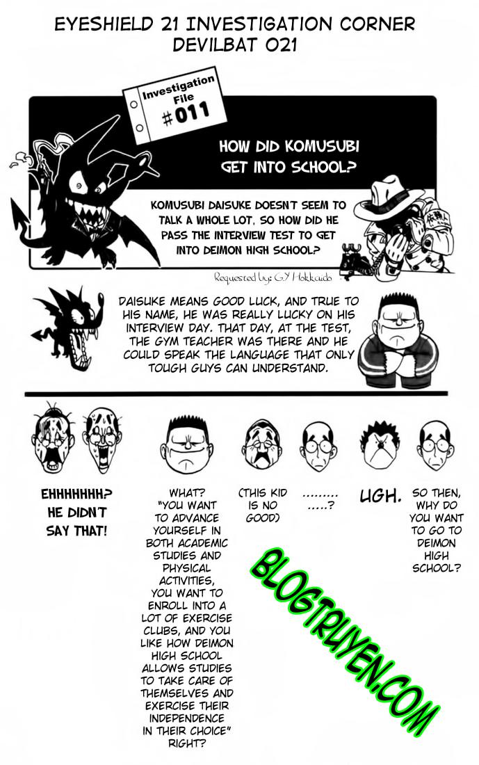 Eyeshield 21 chapter 74 trang 19